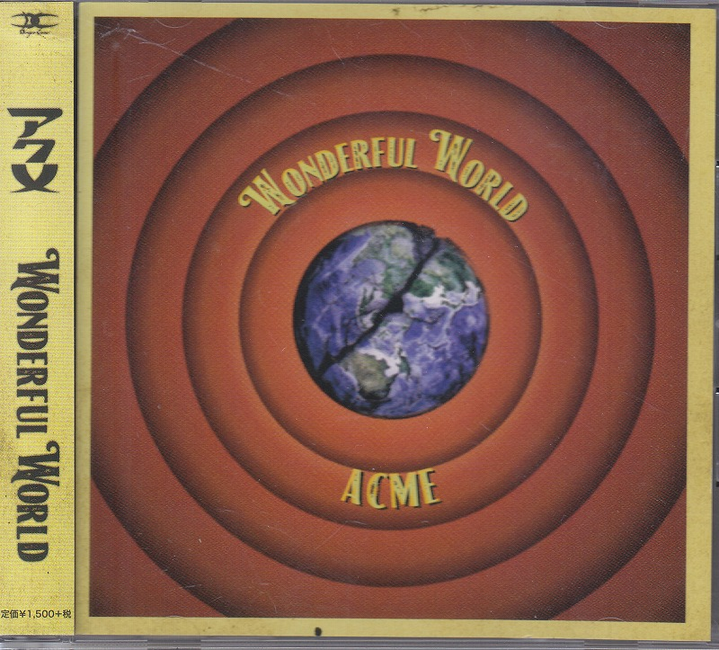 アクメ の CD WONDERFUL WORLD