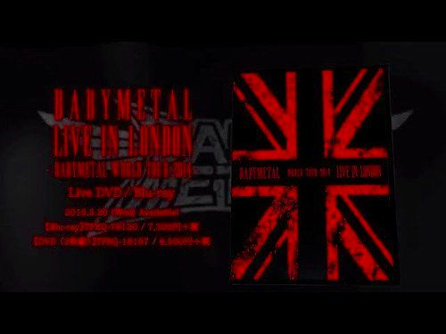 ベビーメタル の DVD 【Blu-ray】LIVE IN LONDON -BABYMETAL WORLD TOUR 2014-