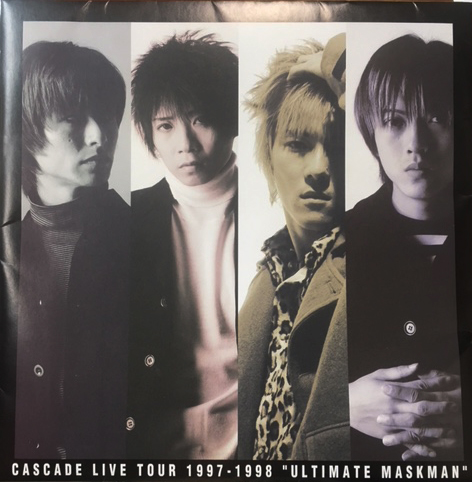 CASCADE ( カスケード )  の パンフ LIVE TOUR 1997-1998「ULTIMATE MASKMAN」
