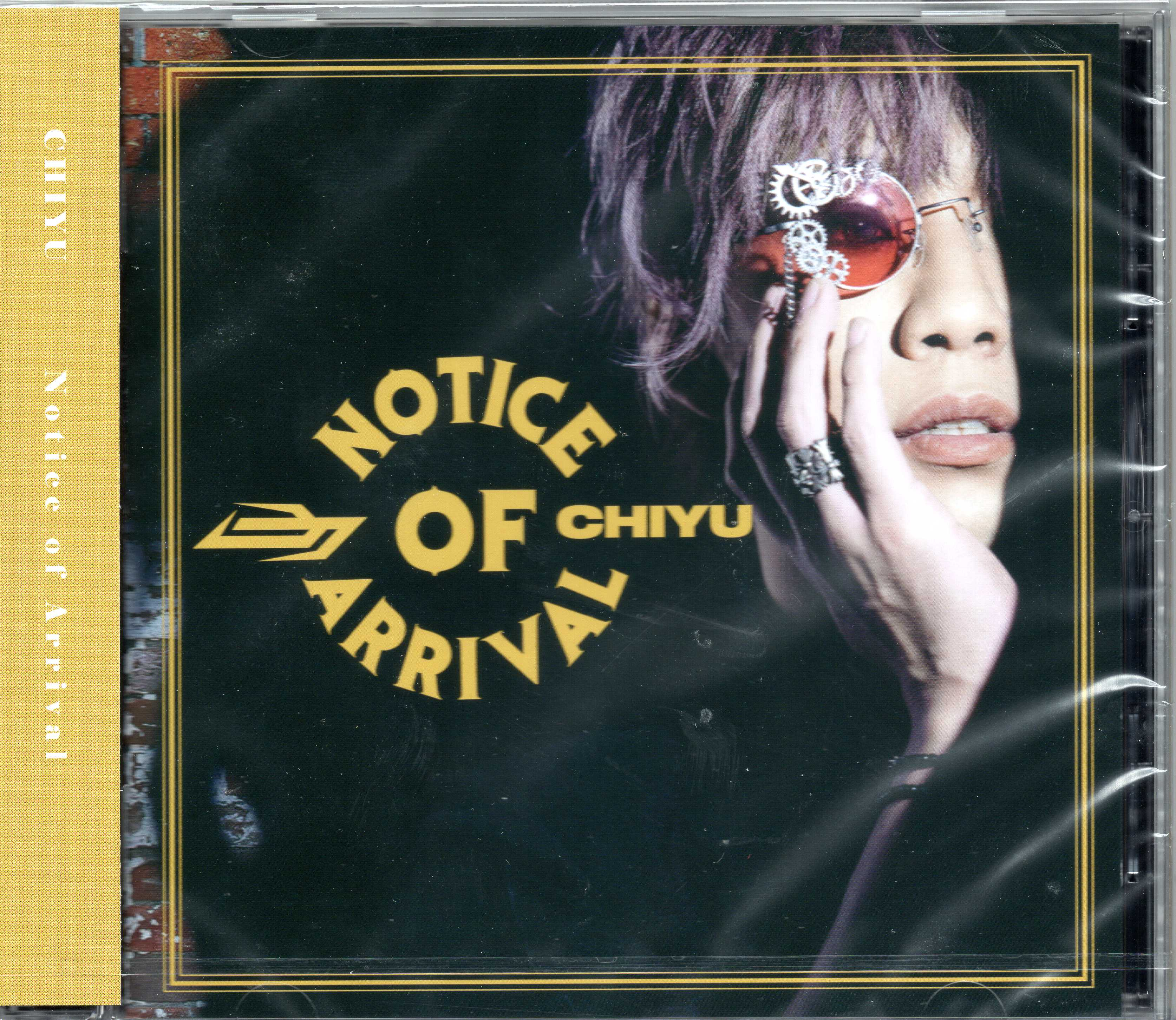 Chiyu の CD Notice of Arrival