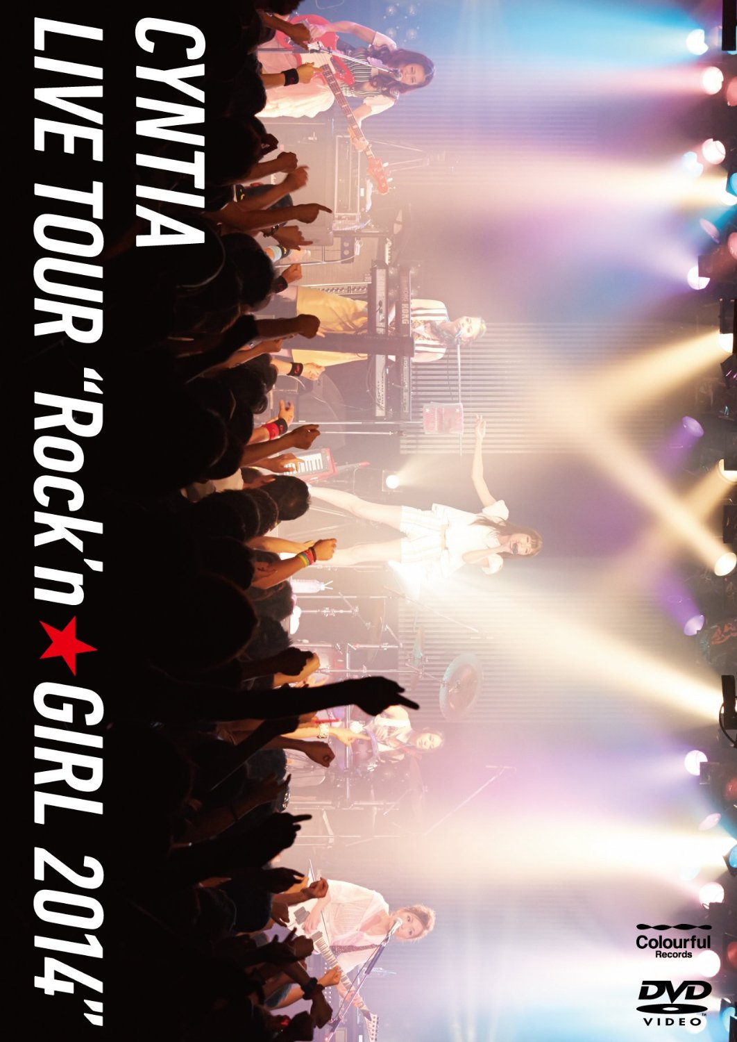"シンティア の DVD Cyntia LIVE TOUR ""Rock'n☆GIRL 2014"""