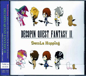 デコラホッピング の CD DECOPIN QUEST FANTASY Ⅱ (TYPE-A)