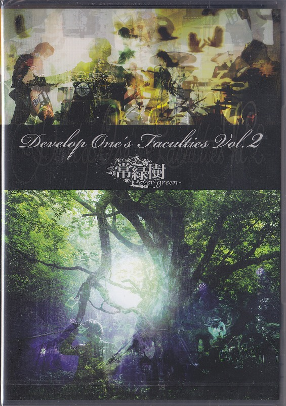 Develop One's Faculties ( ディヴェロプ ワンス ファーカルティース )  の DVD Develop One's Faculties Vol.2「常緑樹-ever green-」