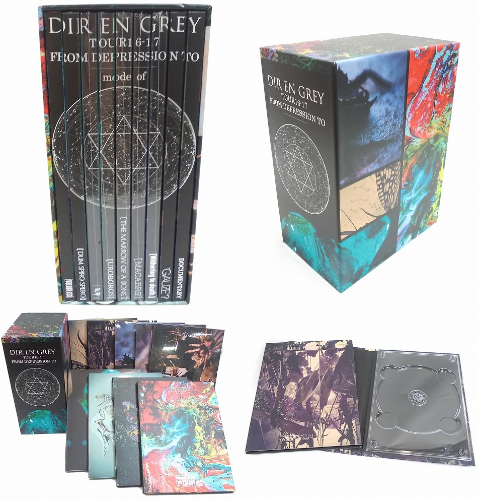 "DIR EN GREY の DVD 【Blu-ray】TOUR16-17 FROM DEPRESSION TO ________""コンプリートBOXセット"