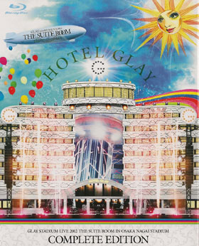 グレイ の DVD STADIUM LIVE 2012 THE SUITE ROOM IN OSAKA NAGAI STADIUM '7.28 Super Welcome Party & 7.29 Big Surprise Party'