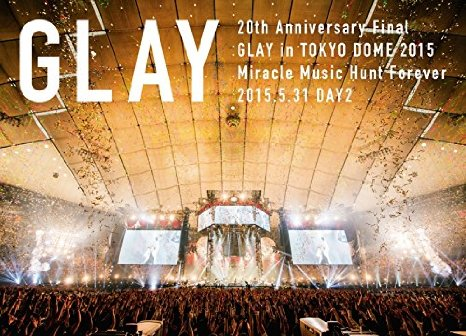 グレイ の DVD 【DVD】【STANDARD EDITION DAY2】20th Anniversary Final GLAY in TOKYO DOME 2015 Miracle Music Hunt Forever Blu-ray限定 -STANDARD EDITION-