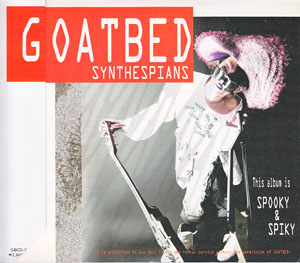 GOATBED の CD SYNTHESPIANS(1枚組)