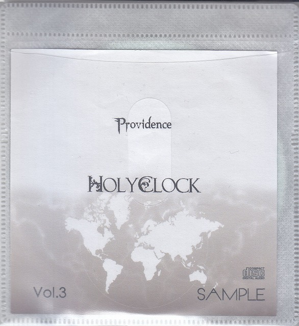 HOLYCLOCK ( ホーリークロック )  の CD Providence Vol.3 SAMPLE