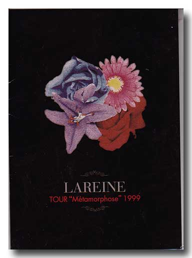 LAREINE の パンフ TOUR Metamorphose 1999