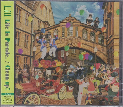 Lill ( リル )  の CD 【Type-C】Life Is Parade./Clean up!