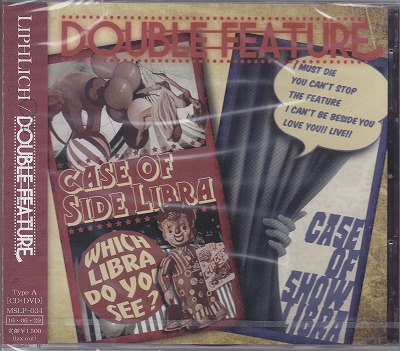 リフリッチ の CD 【TypeA】DOUBLE FEATURE