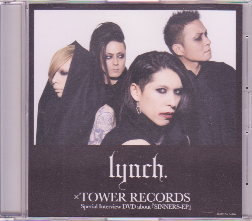 lynch. の DVD Special Interview DVD about『SINNERS-EP』