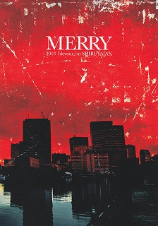 MERRY の パンフ 2013 「devour」 at SHIBUYA-AX