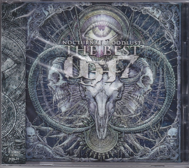 NOCTURNAL BLOODLUST の CD 【通常盤】THE BEST '09-'17