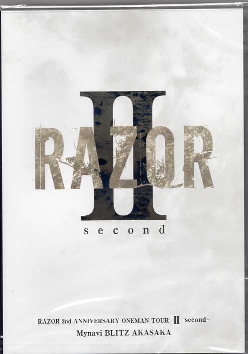 RAZOR の DVD RAZOR 2nd ANNIVERSARY ONEMAN TOUR Ⅱ-second-@マイナビBLITS 赤坂