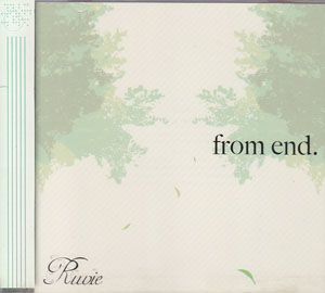 Ruvie ( ルヴィエ )  の CD from end.
