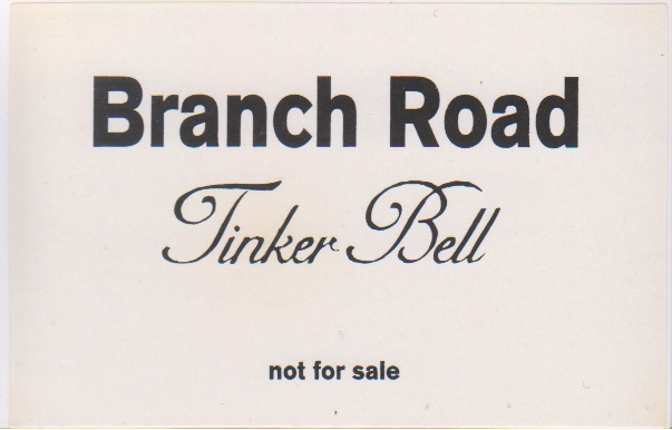 Tinker Bell の テープ Branch Road