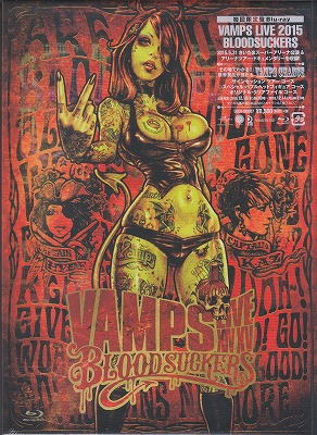 ヴァンプス の DVD 【Blu-ray初回限定盤】VAMPS LIVE 2015 BLOODSUCKERS