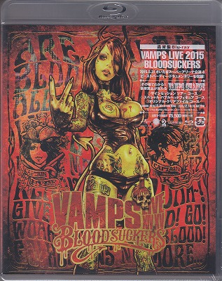 ヴァンプス の DVD 【Blu-ray通常盤】VAMPS LIVE 2015 BLOODSUCKERS