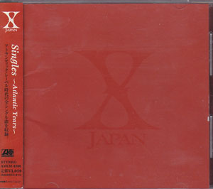 X JAPAN の CD Singles~Atlantic Years~